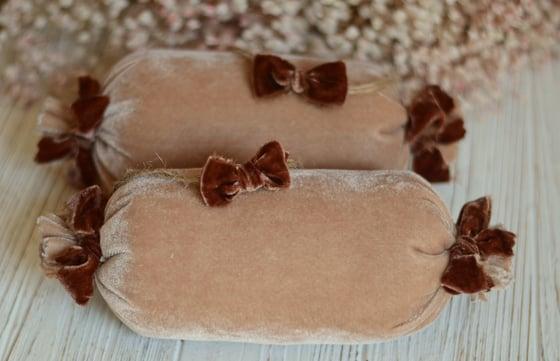 Image of  Velvet pillow set