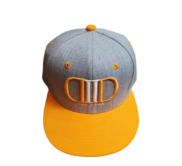 Yellow/Gray SnapBack Hat