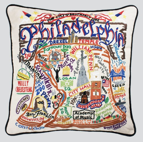 Philadelphia pillow