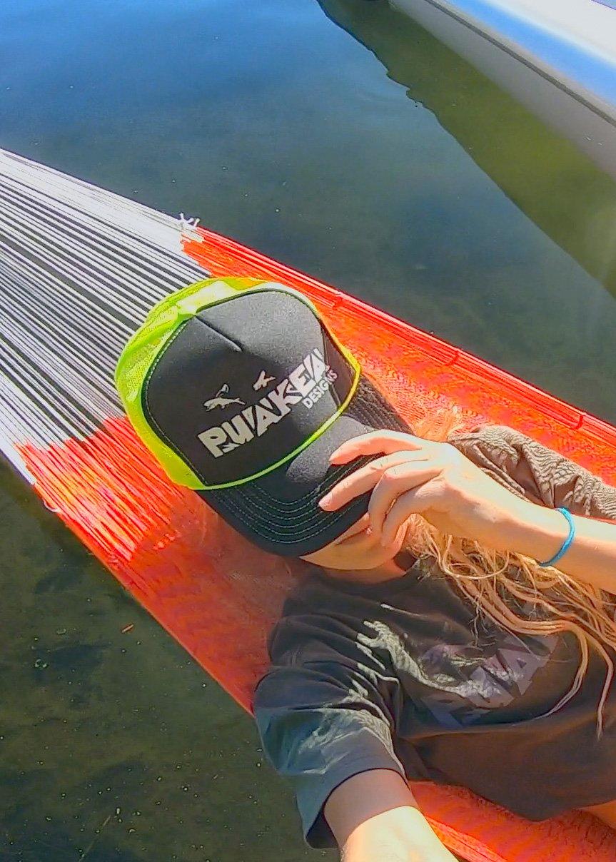 Image of Puakea Neon Trucker Hat