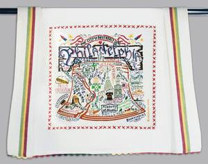 Image of Philadelphia tea towel