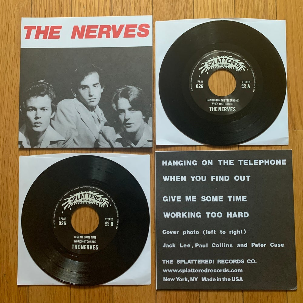 Image of The Nerves  'EP' 7""