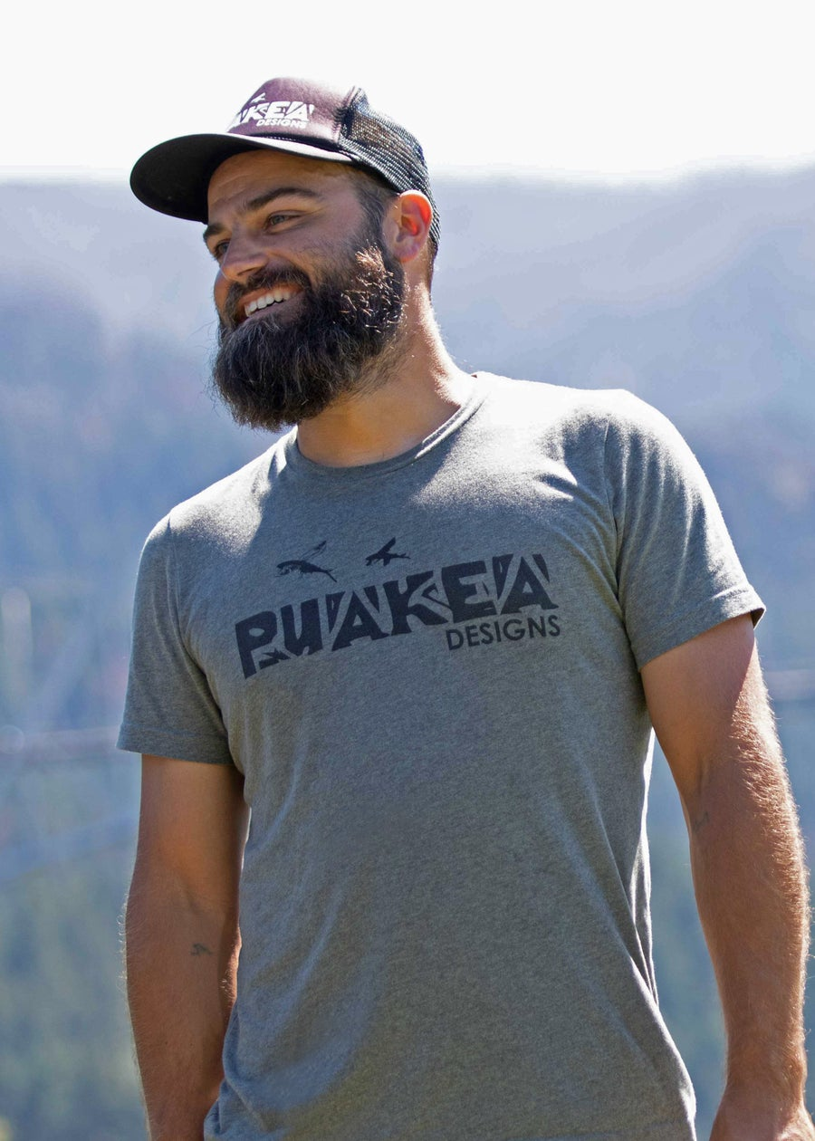 Image of Puakea USA Cotton T-Shirt