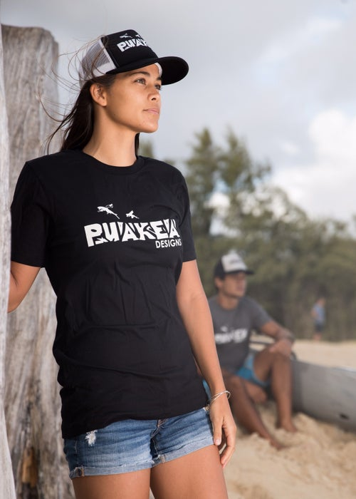 Image of Puakea USA Cotton T-Shirt