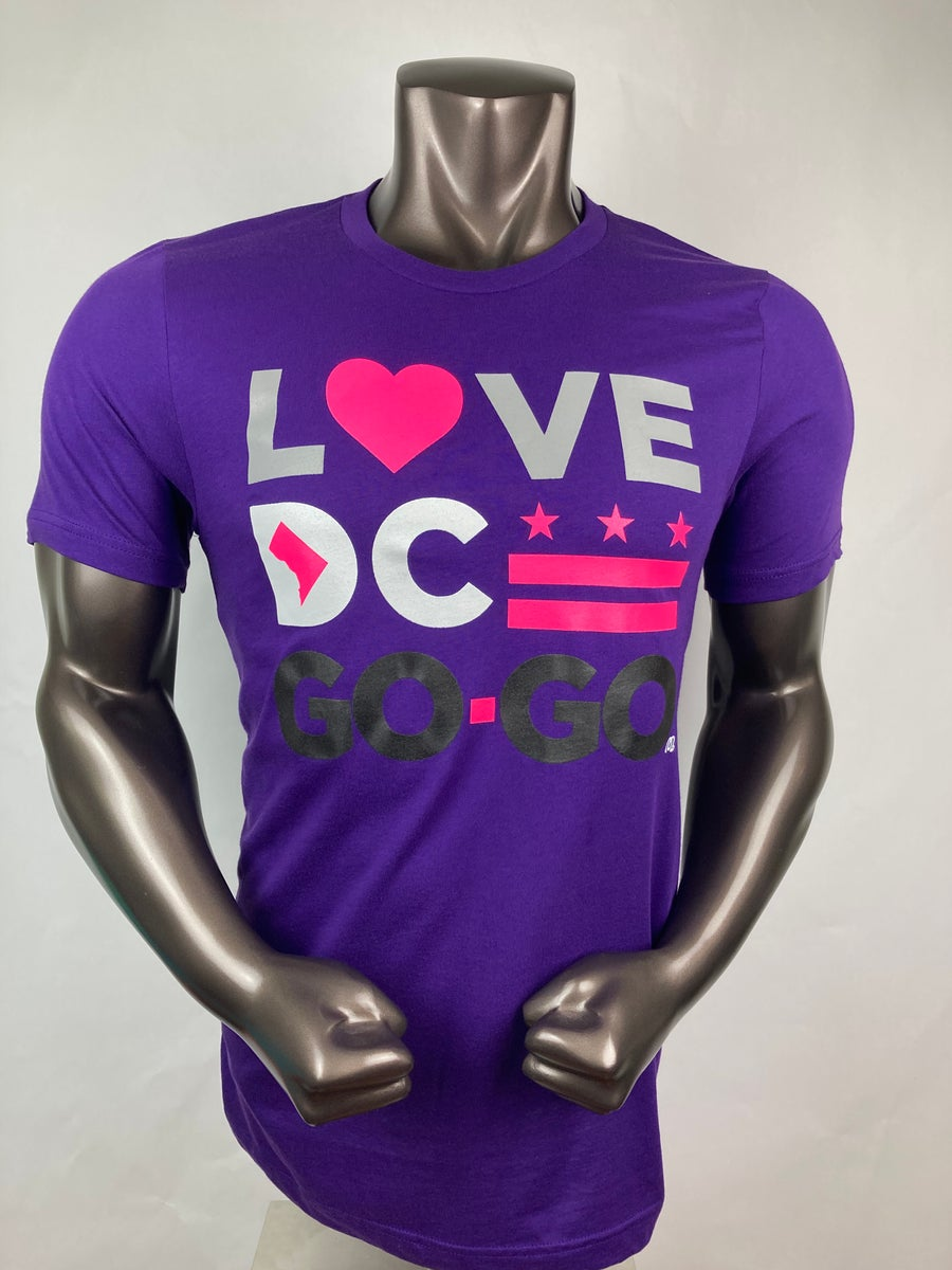 Image of Love DC Go-Go - Eggplant