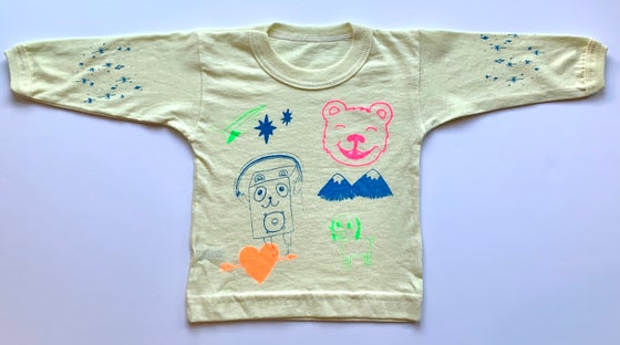 "Image of ""Bear"" long sleeve baby t-shirt (6-12months)"