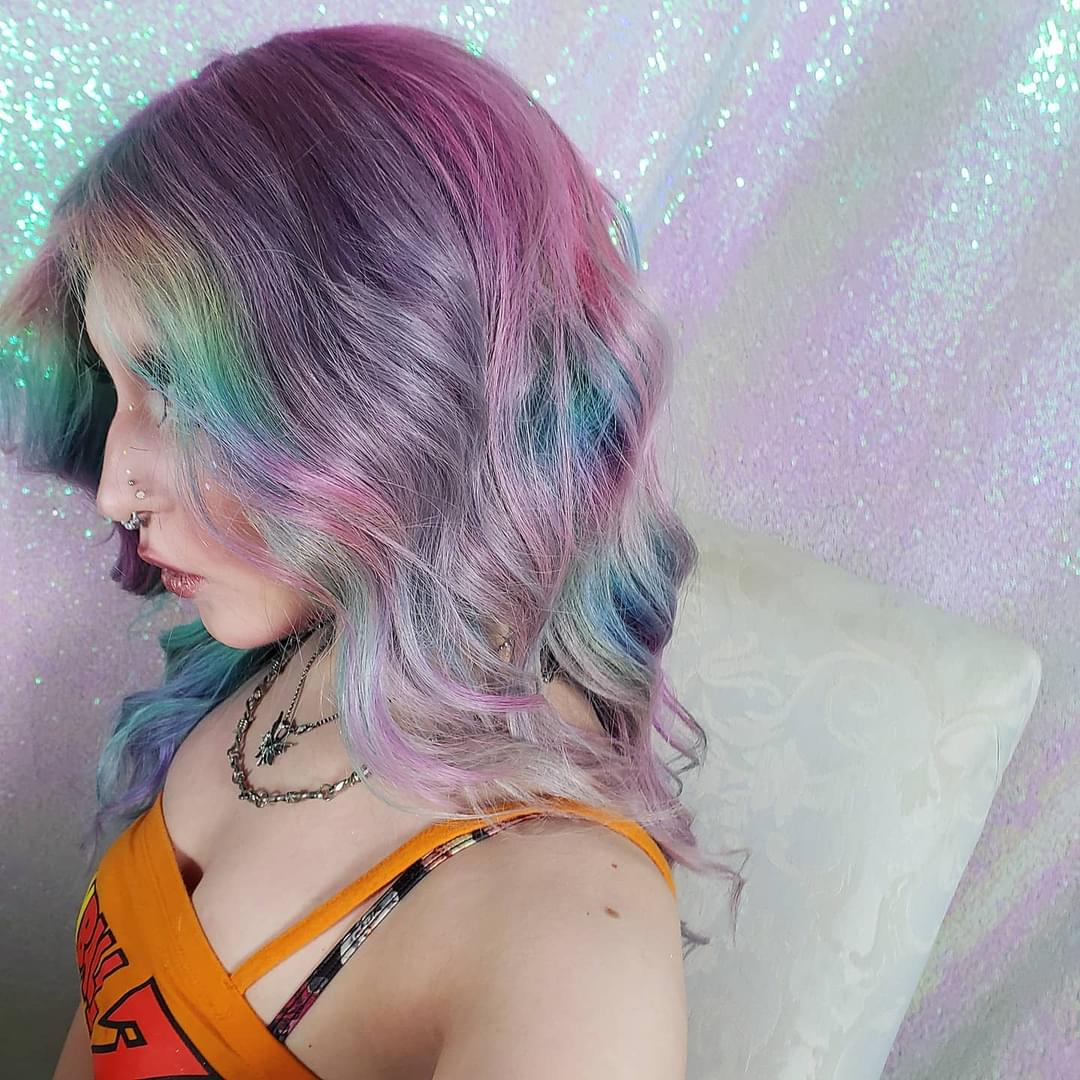 Image of Misty Sky Human Hair Lace Front Wig