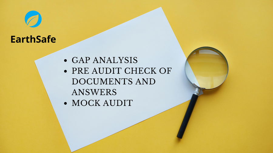 Image of Gap analysis / Pre audit check of documents and SAC answers / Mock audit