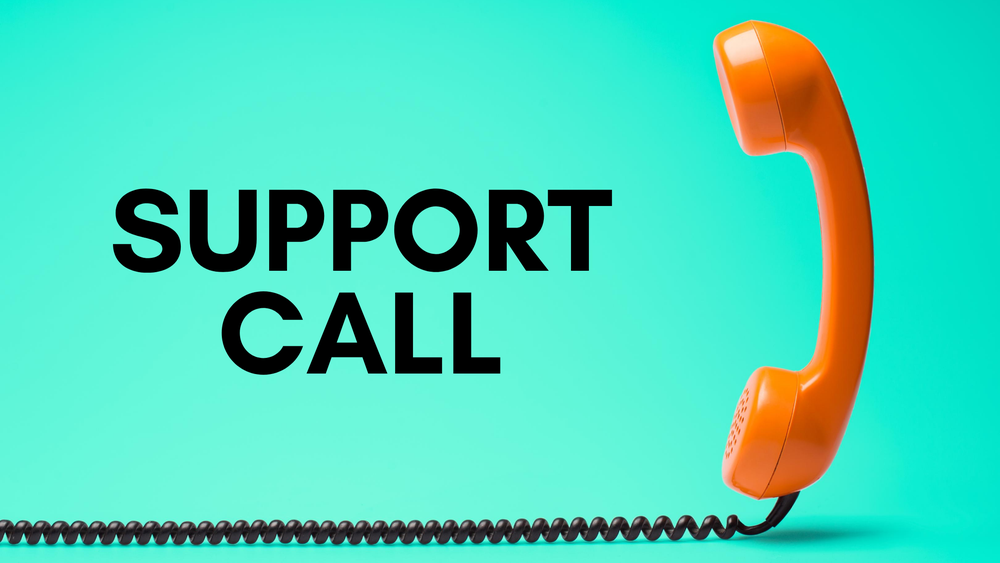 Image of Support call