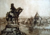 """Image of """"View of Parliament"""", Budapest, Hungary"""