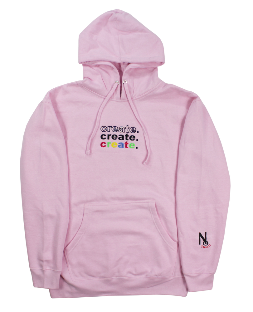 Image of CREATION HOODIE PINK