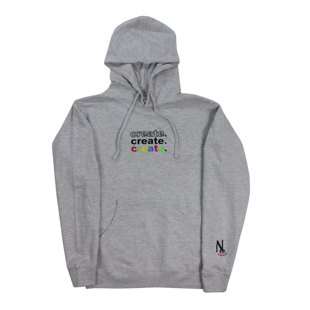 Image of CREATION HOODIE GREY