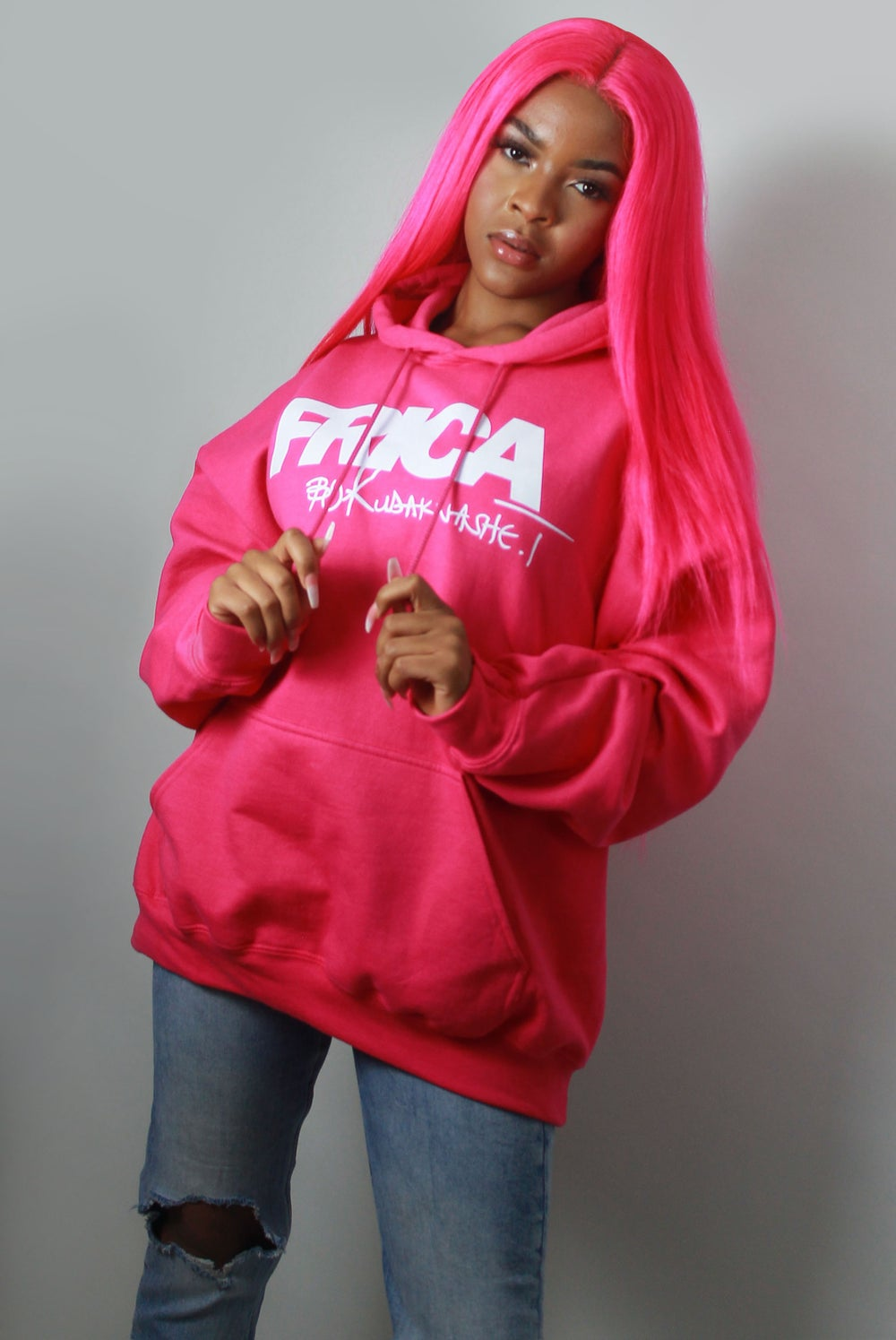 Image of The Pink Hoodie X