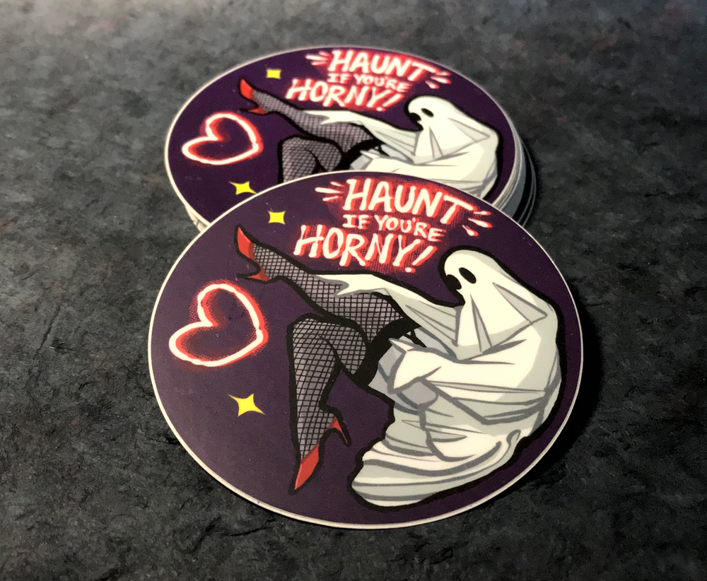 Haunt If You're Horny Sticker