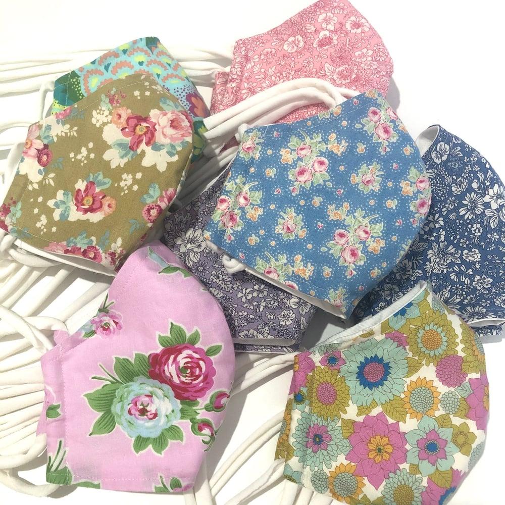 Image of Face Mask - Designer Cotton Fabric 1