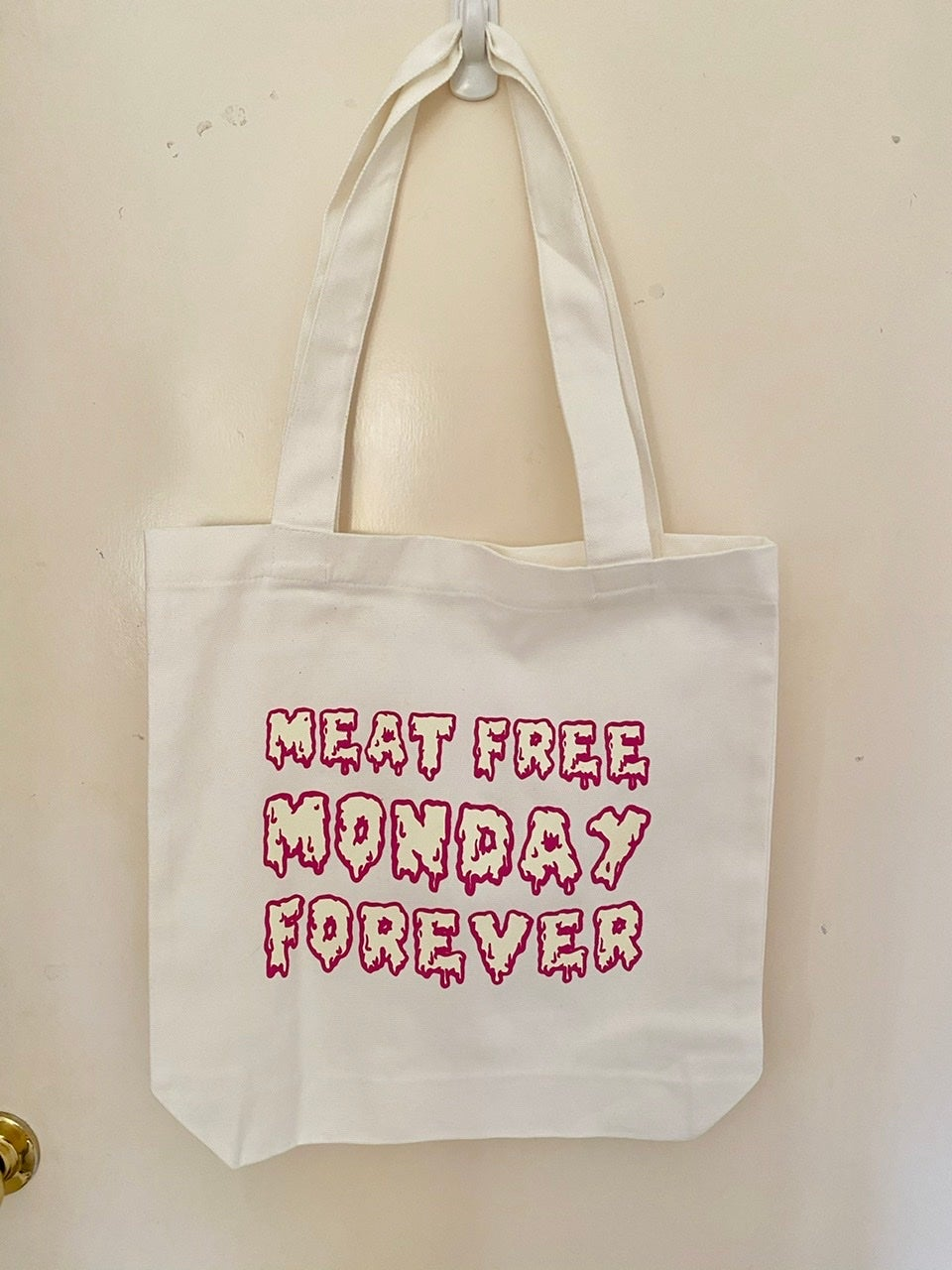 Image of Meat Free Forever Monday Tote