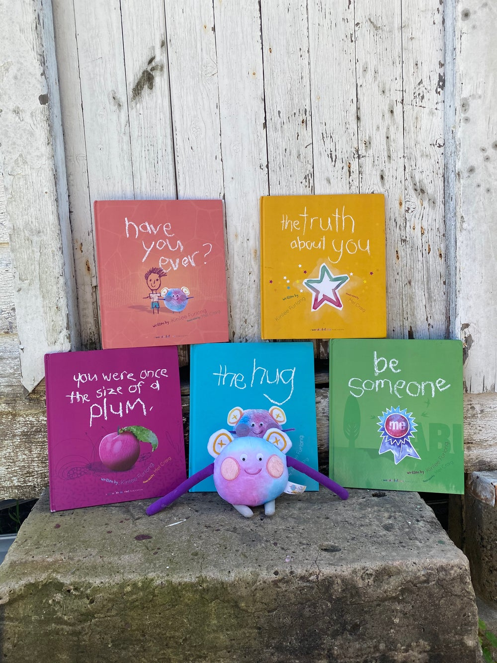Image of Wonderful Me Hardcover Book Set and Hug Toy