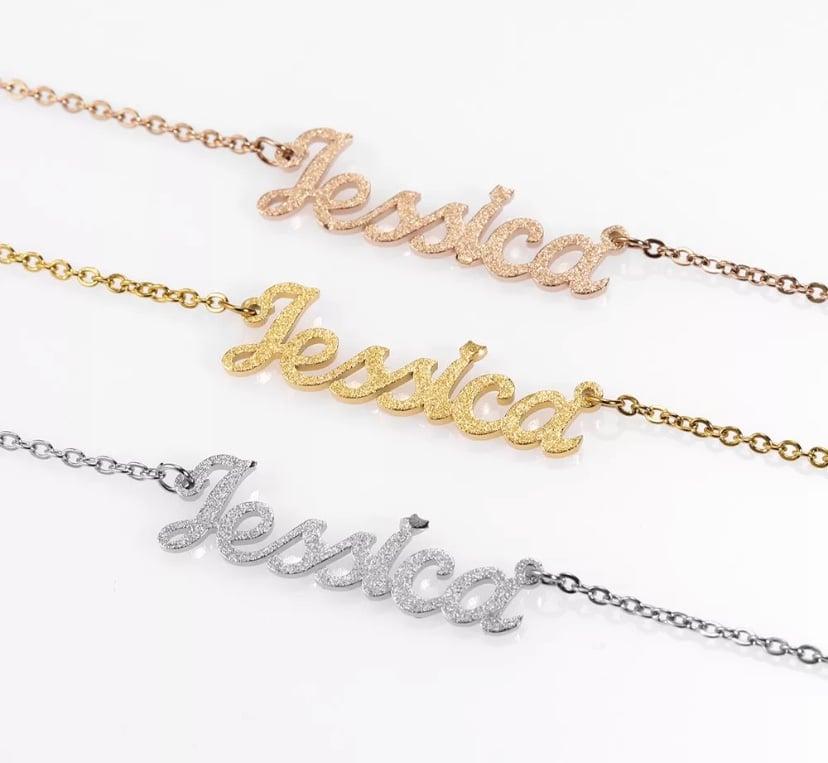 Image of Sparkle Custom Necklace