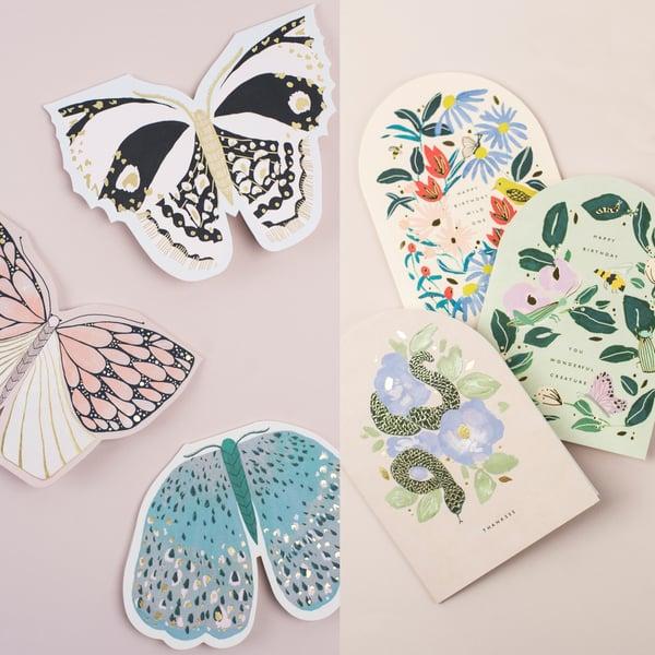 Image of Wonderful Creatures Card Bundle - 6 Cards