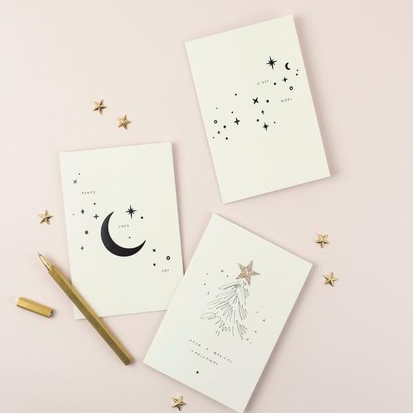 Image of Christmas Star Bundle - 6 Cards