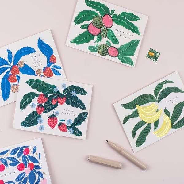 Image of Fruity Bundle - 5 Cards