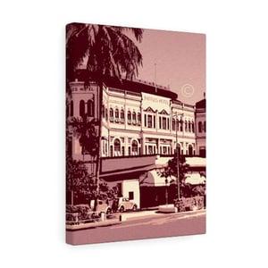 "Image of Singapore Raffles Hotel Canvas Gallery Wraps 12""x16"""
