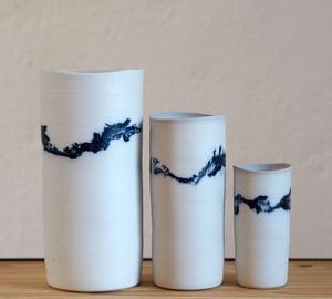 Image of Isabelle René - Vase Porcelaine / Moyen Modèle