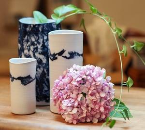 Image of Isabelle René - Vases Porcelaine / Grand Modèle