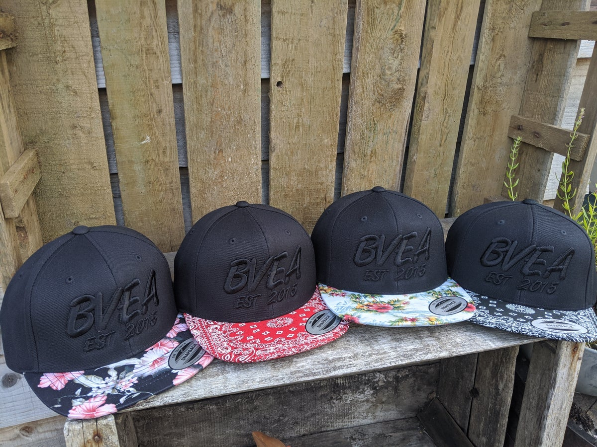 Limited Edition Floral SnapBack Pink