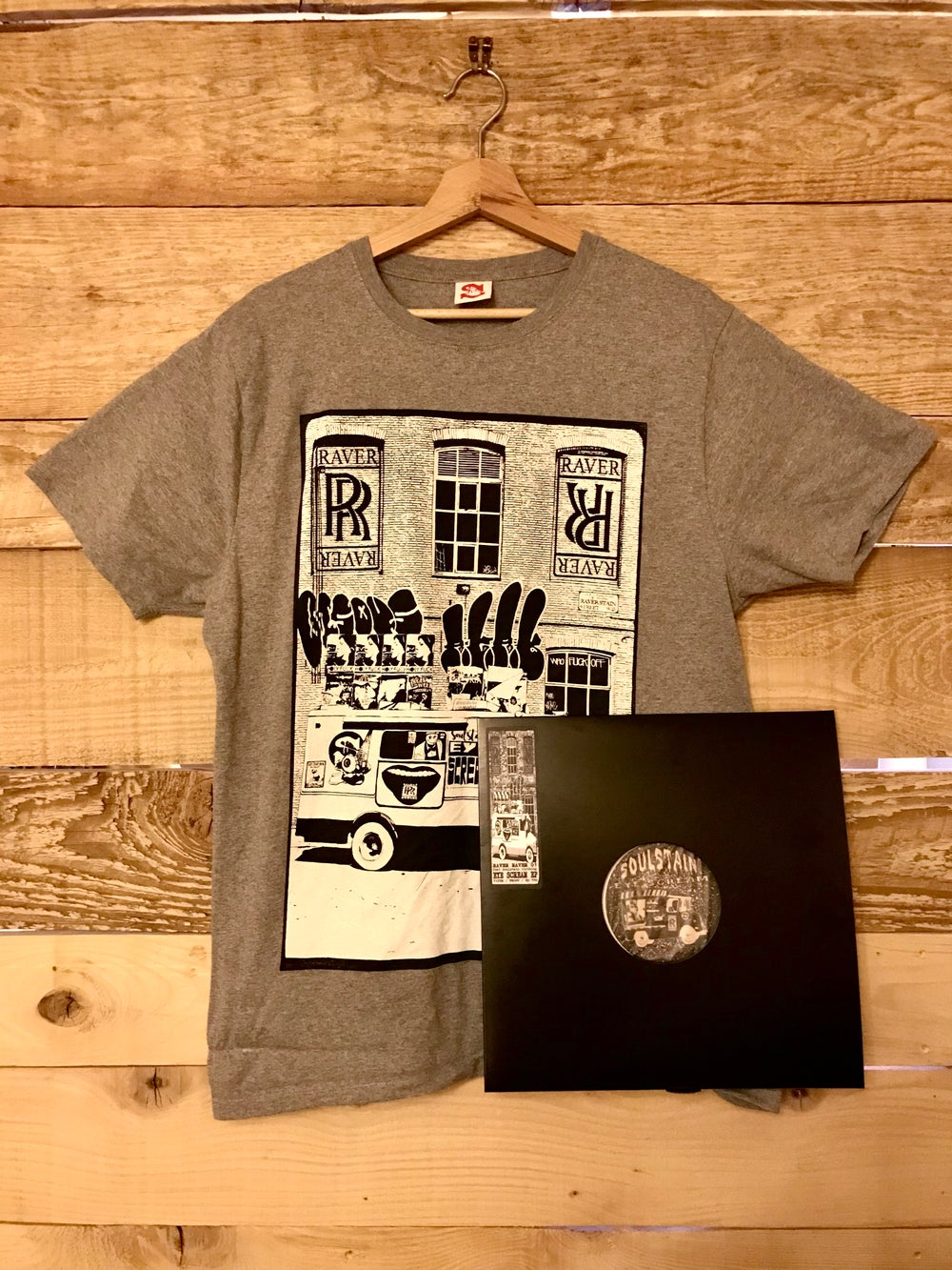 Soulstain X Raver Raver Pack (Vinyle + Limited T-Shirt)