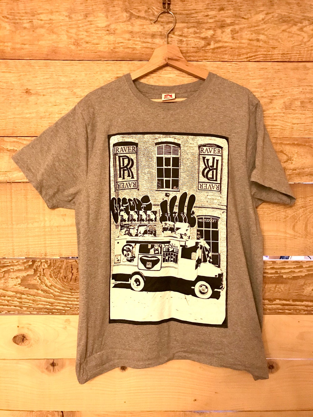 Soulstain X Raver Raver Pack (Vinyle + Limited T-Shirt)