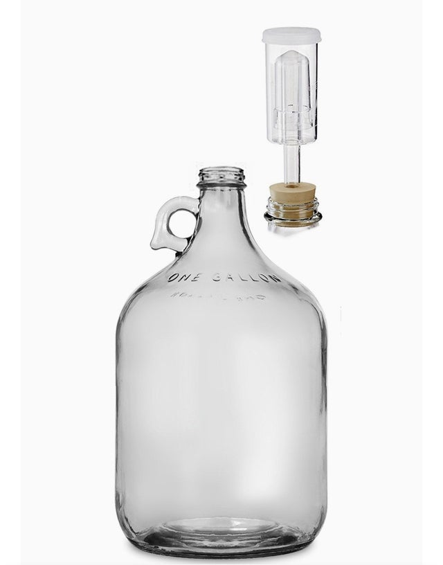 Image of One Gallon Carboy Set  {Set of 4}