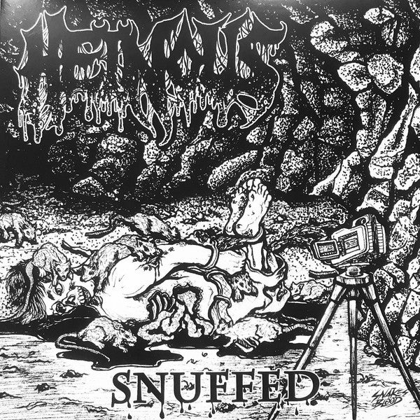 "Image of  Fluids / Heinous  – Snuffed / Torture Euphoric 7"""