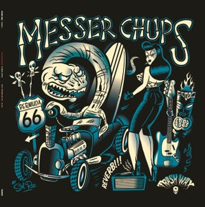 Image of  LP. Messer Chups : Bermuda 66.   Limited Edition Out Now.