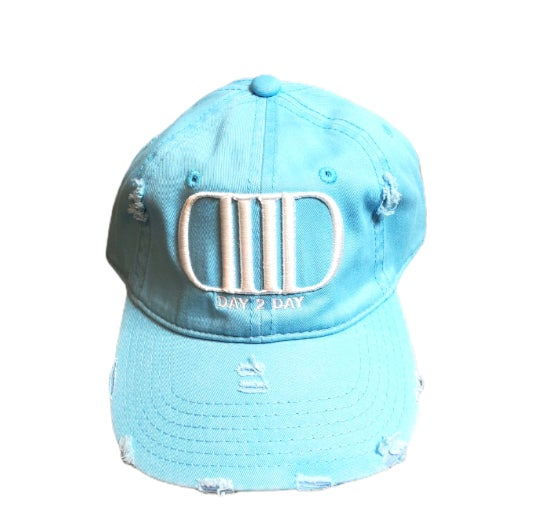 Powder Blue/White Dad Hat