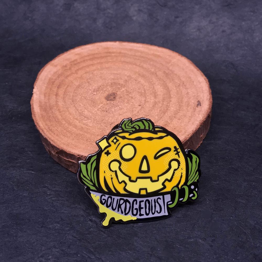 Gourd-geous Pin