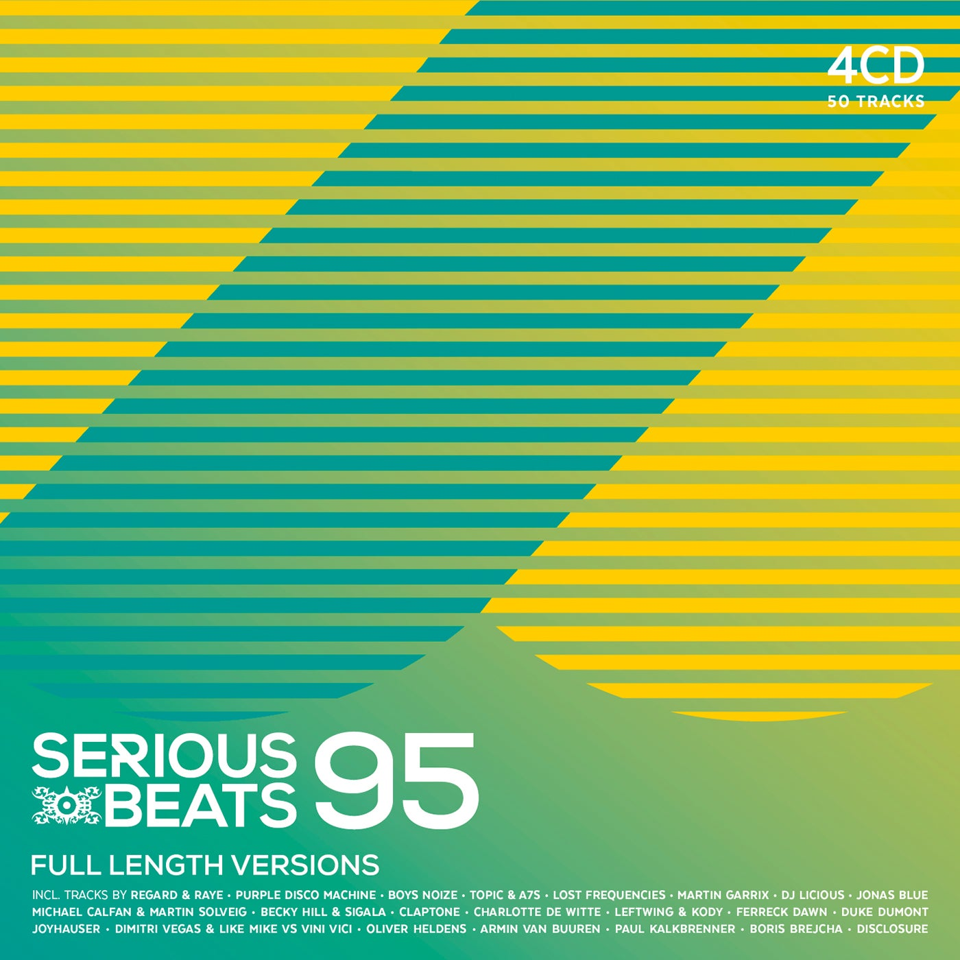 Image of SERIOUS BEATS 95 (4CD)
