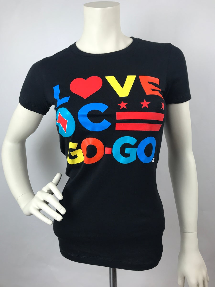 Image of Love DC Go-Go - MC2020 - Ladies Slim Fit T-shirt