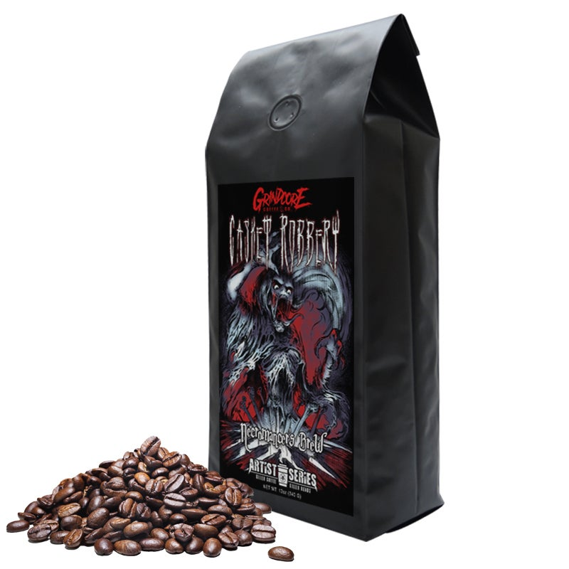 Image of Casket Robbery Necromancer's Brew - Grindcore Coffee Artist Series