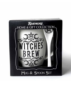 Image of ALCHEMY GOTHIC Witches Brew: Mug and Spoon Set