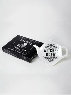 Image of ALCHEMY GOTHIC Witches Brew: Tea Spoon Rest