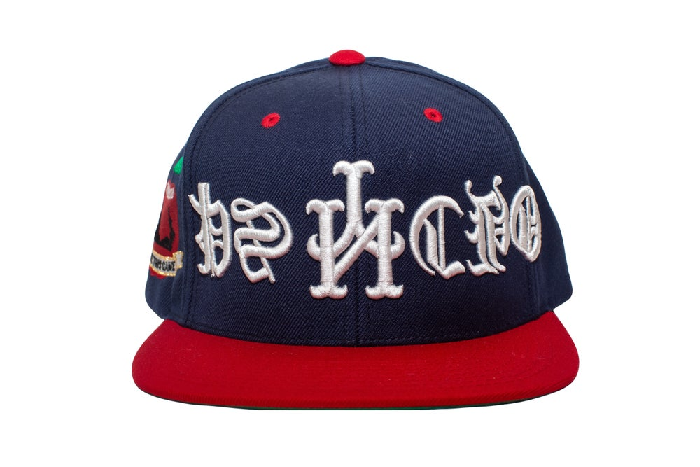Image of 2 Tone Upside Down Psycho Snapback