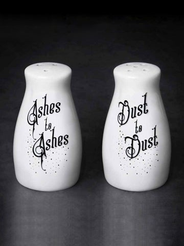 Image of ALCHEMY GOTHIC Ashes/Dust: Salt and Pepper Set