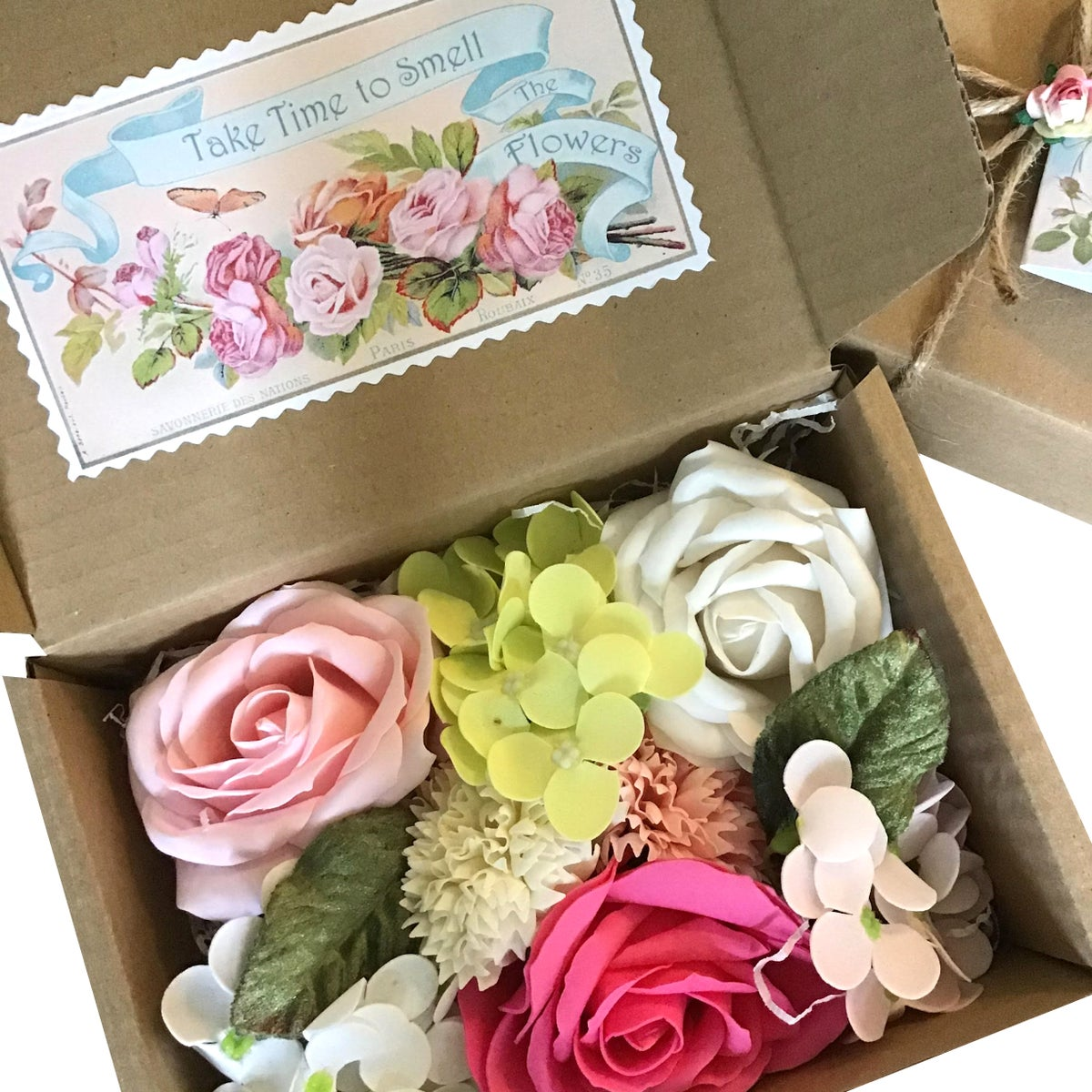 Image of Pretty Soap Flowers Country Garden Mix