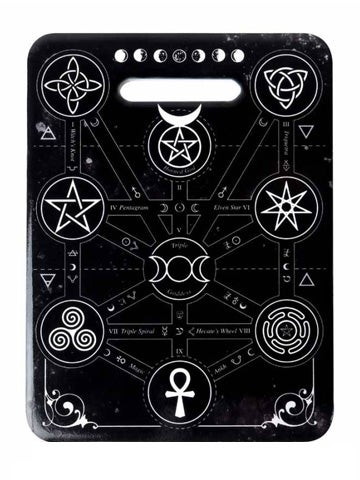 Image of ALCHEMY GOTHIC Magic Symbols: Chopping Board/Trivet