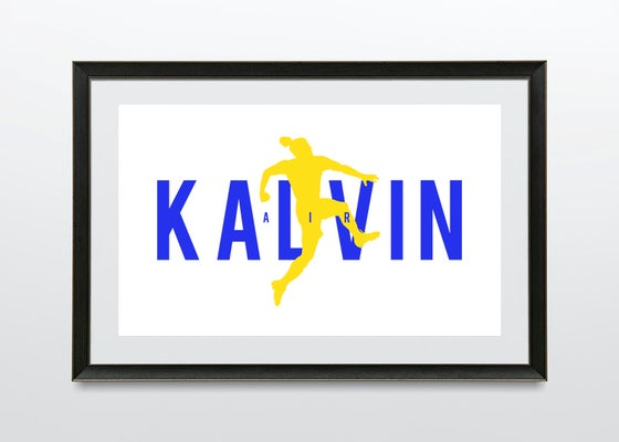 Image of Air Kalvin A3 Print.