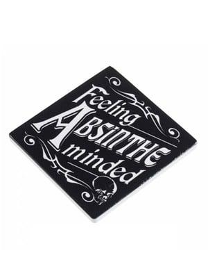 Image of ALCHEMY GOTHIC Feeling Absinthe Minded: Coaster (1)