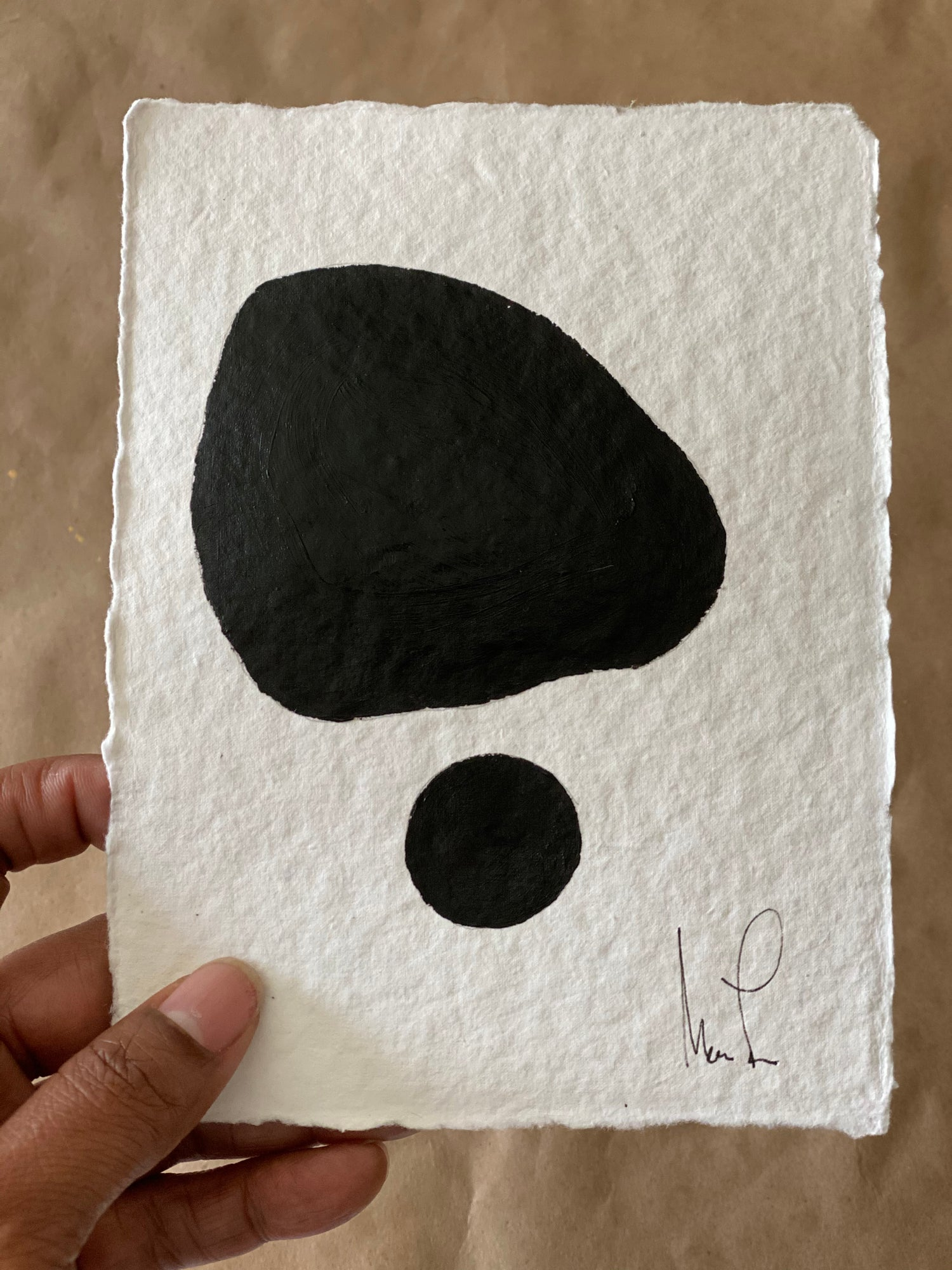 Image of ML• The Shape Collection • Handmade Paper No. 2