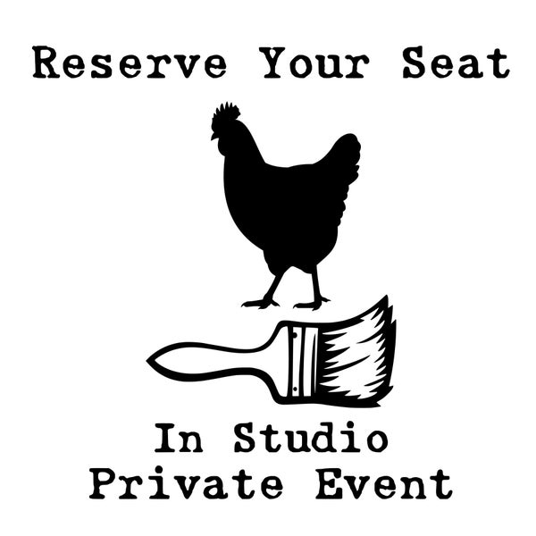 """Image of Reserve Your Seat for an """"In-Studio"""" Craft Bash (Private Event)"""