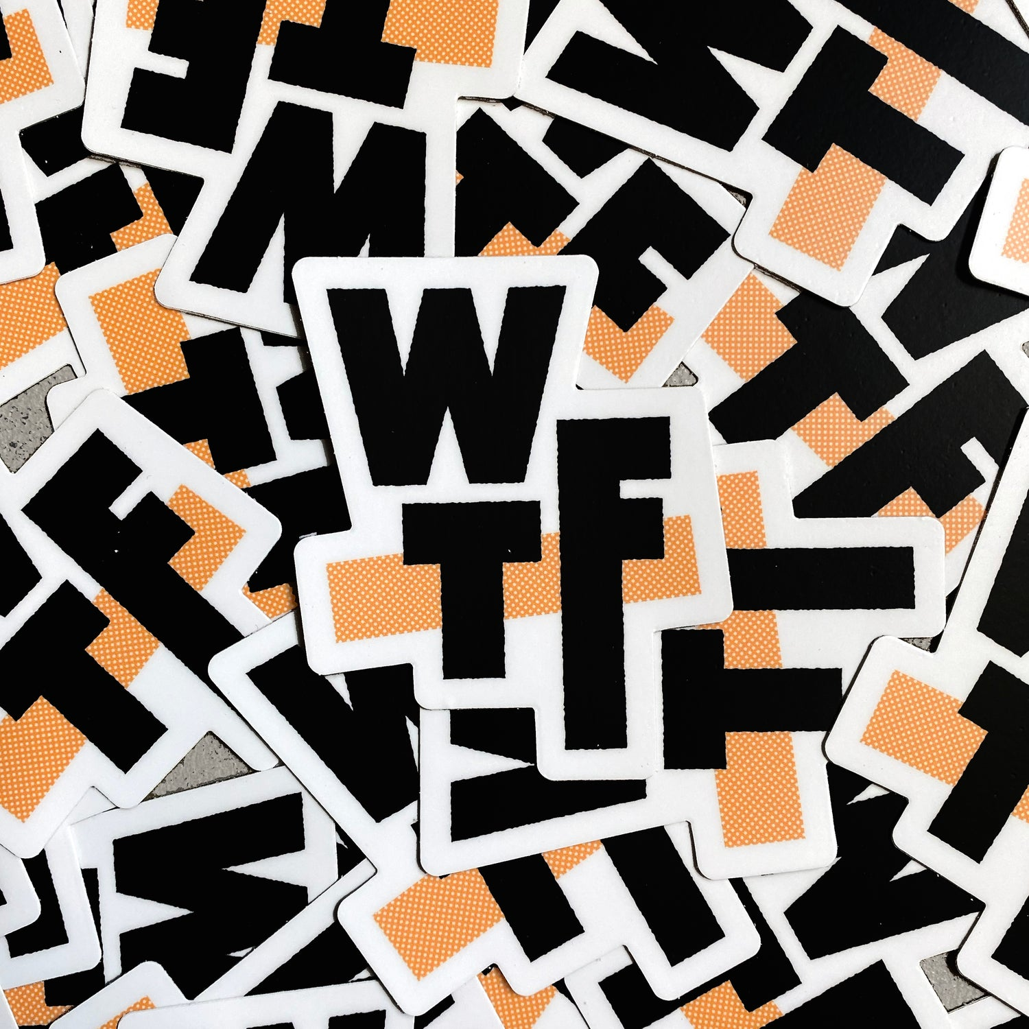 Image of WTF - Sticker